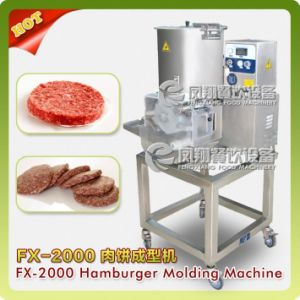 Automatic Hamburger Burger Patty Forming Making Processing Machine Fx-2000 pictures & photos
