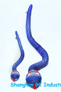 Microbeads Toys Colorful Snake Lifelike Toy pictures & photos