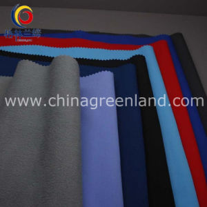Polyester Two-Way Spandex Polar Fleece Fabric for Garment Jackets (GLLML251) pictures & photos