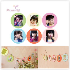 Wholesale Funny Handmade DIY Decorative Paper Photo Frame pictures & photos