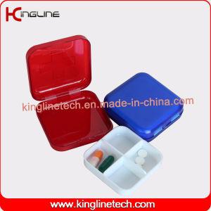 Plastic Square Wholesale Pill Box (KL-9062) pictures & photos