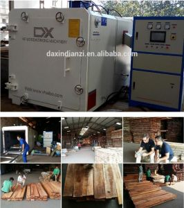 Environmental Furniture Equipment High Frequency Timber Drying Kiln pictures & photos