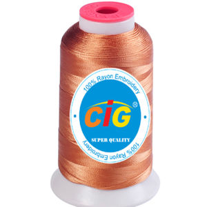 Rayon Embroidery Thread in Small Tube pictures & photos