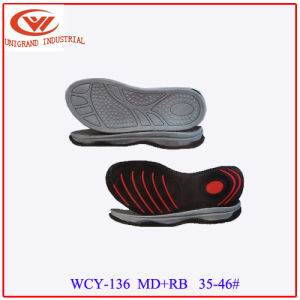 Summer Sandals Shoes Sole Best Selling Outsole for Making Flip Flops pictures & photos