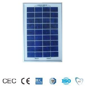 5W Poly-Crystalline Solar Panel with TUV&CE Certificate pictures & photos