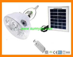 3W 5W Solar Rechargeable Bulb with CE pictures & photos