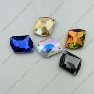 Colorful Glass Stones Sew on Garment (DZ-3070) pictures & photos