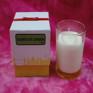 Scented Soy Glass Candle in Gift Box pictures & photos