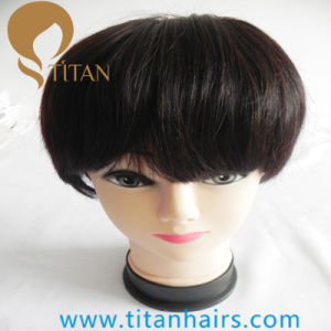 Fashion Remy Human Hair Wig with Full Lace Base pictures & photos
