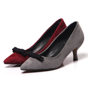Thin High Heel Sharp Toe Sexy Lady Women Dress Shoes