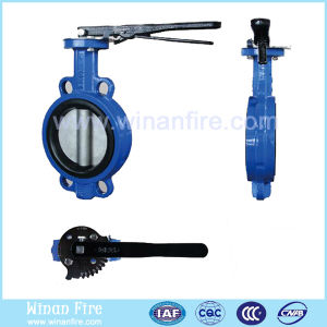 Manual Carbon Steel Butterfly Valve for Water Control pictures & photos