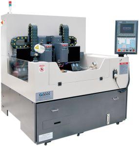 Auto Position Double Spindle CNC Glass Machine (RZG600D_CCD)