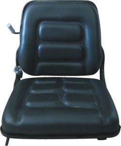 Grammer Black PVC Mechanic Suspension Forklift Truck Seats pictures & photos