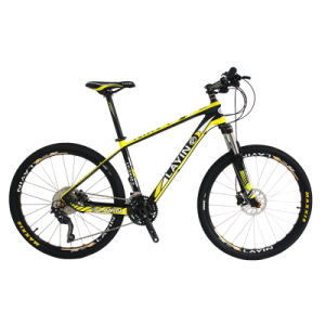 Hydraulic Lockable Fork 30 Speed Carbon Fiber Mountain Bike Bicycle pictures & photos