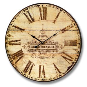 Promotional Home Decor Antique Wooden Quartz Wall Clock Frame Clock pictures & photos