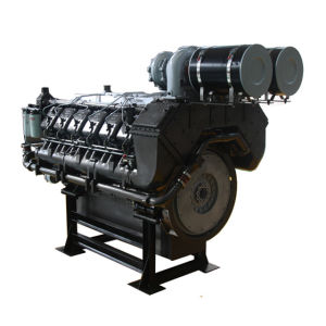 60Hz Googol Natural Gas Diesel Fuel Dual Engine for Generator 320kw-1800kw pictures & photos