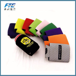 Promotional Fold Neoprene Can Cooler pictures & photos