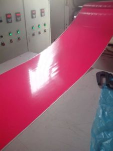 Red Silicone Rubber Sheet, Silicone Sheets, Silicone Sheeting Made with 100% Virgin Silicone Without Smell pictures & photos