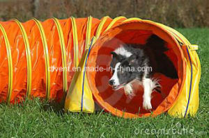 24inch Dog Agility Training Open Tunnel PVC Dog Tunnel pictures & photos