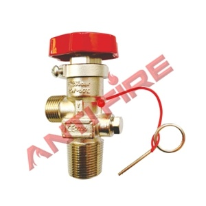 Wheeled CO2 Fire Extinguisher Valve pictures & photos