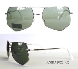 New Arrival Irregular Shape Metal Sunglasses pictures & photos