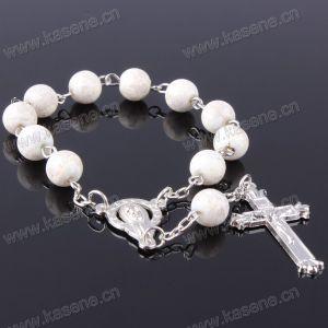 Wholesale 6mm Round Glass Bead Rosary Bracelet, Cheap Rosary Bracelet