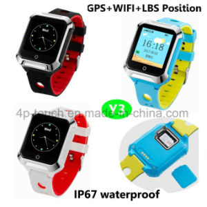 Newest 2g/GSM Waterproof Kids GPS Tracker Watch with Multifunctions Y3 pictures & photos