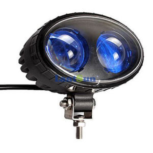 Hot Sale 8W 5.5inch Spotip68 Blue LED Safety Warning Light pictures & photos