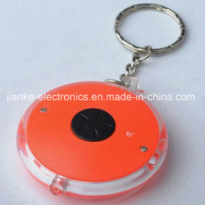 Promotional Plastic LED Light Keychain with Logo Print (3672) pictures & photos