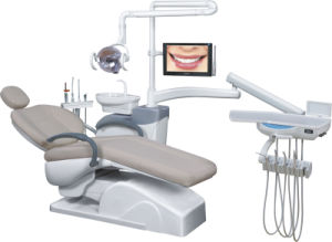 Medical Dental Unit Oral Eletrical Dental Chair with CE & Comfortable for Dentist pictures & photos