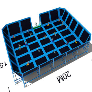 Free Jump Trampoline for Indoor Playground pictures & photos