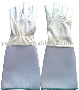 Long Cuff Glove-Full Pig Leather Glove-Working Glove pictures & photos