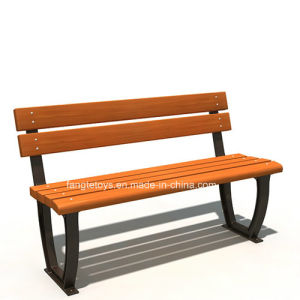 Park Bench, Picnic Table, Cast Iron Feet Wooden Bench, Park Furniture FT-Pb024 pictures & photos