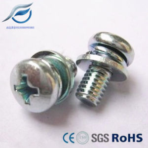 Carbon Steel Zinc Plated Sems Screw