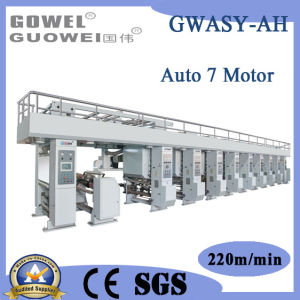 Electronic Shaft System Computer Control 6 Color Paper Printing Machine pictures & photos
