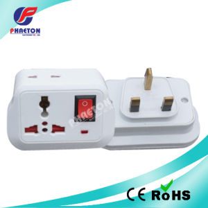 10A 250V Power AC Adapter Plug with Switch UK pictures & photos