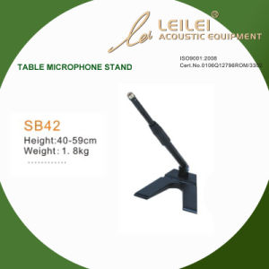 Ajustable Table Microphone Stand Base (SB42) pictures & photos