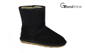 Kids New Arrival Sequins Winter Boots pictures & photos