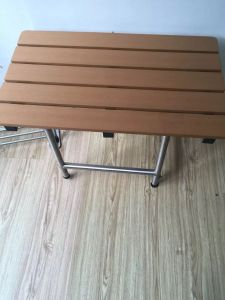 Folding Chair, Stainless Steel Safety Bathroom Shower Resting Chair pictures & photos