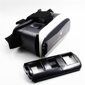 Newest Shaped Vr Box 3D Virtual Reality Glasses with Bluetooth Remote Controller pictures & photos
