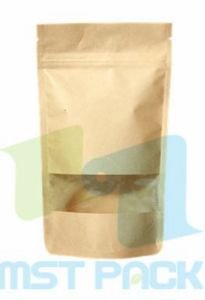 Pet Food Bag with Zipper; Kraft Paper Coffee Bag; pictures & photos