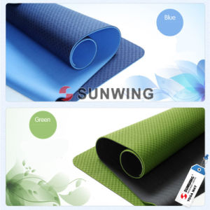 Eco-Friendly Natural Rubber Extra Thick Yoga Mat pictures & photos