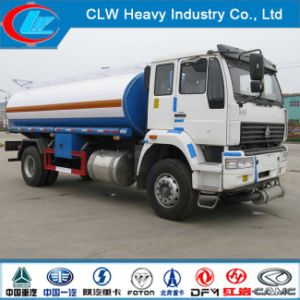 6 Wheel 4X2 Sinotruk Gold Prince 266HP Oil/Fuel Tank Truck pictures & photos