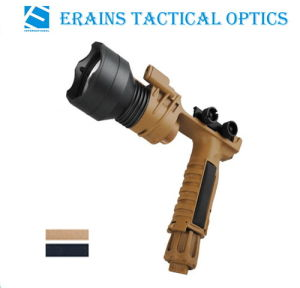 Erains Tac Optics Tactical 250 Lumens Screw Detach Dura Aluminum Grip Torch Light with Reading Lamp Attached pictures & photos