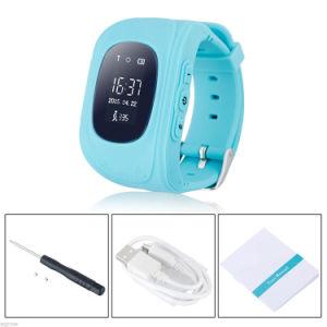 Gelbert Q50 GSM GPS Smart Wrist Watch Kids Smart Watch for Gifts pictures & photos