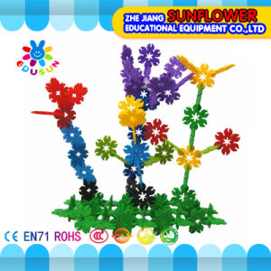 Children Plastic Desktop Toy Leaf Slicing Building Blocks