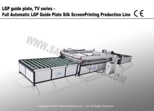 Ay-1224le-AC Full Automatic LGP Guide Plate Silk Screen Printing Machine Line pictures & photos