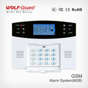 Hom Security Alarm Systems APP GSM Wireless Internet SMS Home Intruder Burglar Outdoor Siren Alarm System Kit pictures & photos