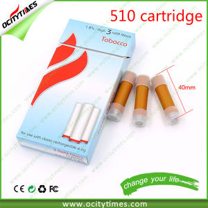 Different Flavors Different Nicotine Contain 510 Disposable Cartomizer/510 Cartridge pictures & photos