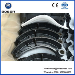 Truck Engine Auto Spare Part 24 Holes Air System 220mm Brake Shoe for Hino Truck pictures & photos